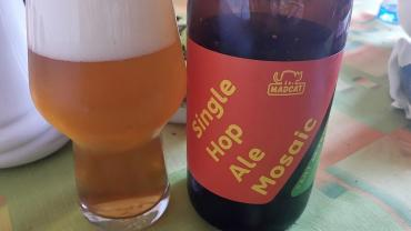 MadCat Single Hop Ale Mosaic
