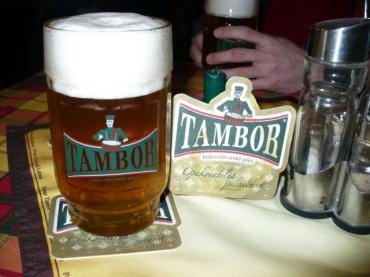První dnešní opravdové pivo
